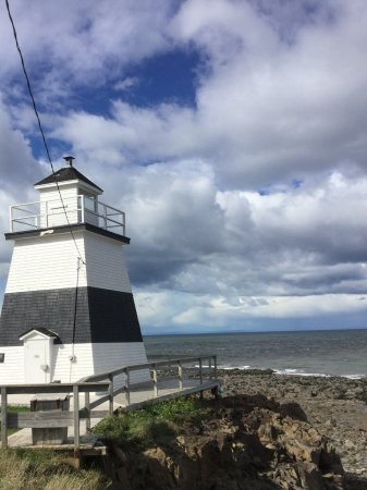 Bay of Fundy & Annapolis Valley of Nova Scotia, Kanada: Lighthouse at Margaretville