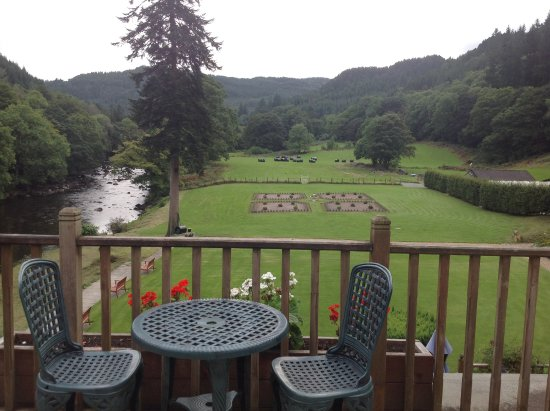 Craig-y-Dderwen Riverside Hotel: Breathe taking view from room