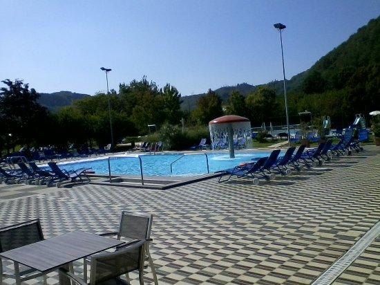 Petrarca Hotel Terme: piscina fungo