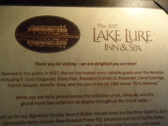 Lake Lure, Carolina del Norte: Welcome sign
