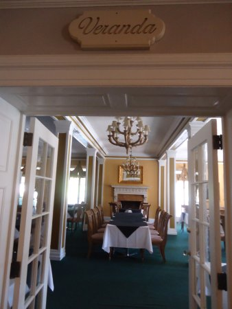 Lake Lure, NC: Dining room