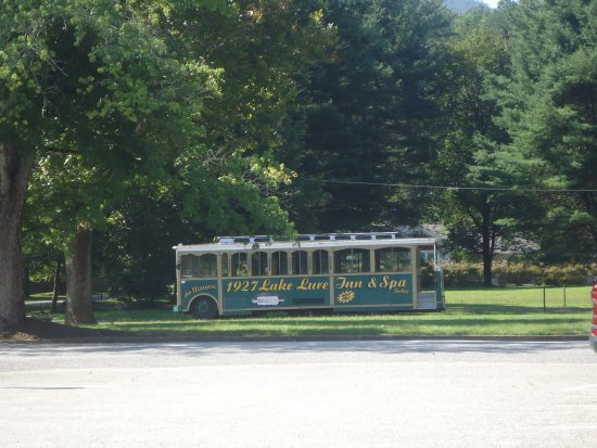 Lake Lure, Kuzey Carolina: Trolley bus