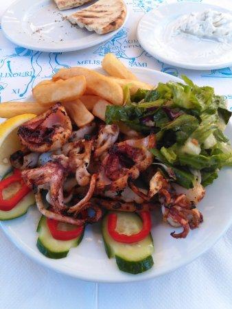Platanos: Calamari alla griglia