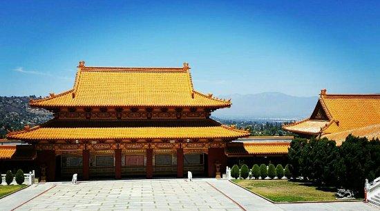 Hacienda Heights, Καλιφόρνια: View from main temple