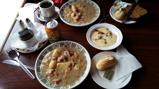 Caherdaniel, Ιρλανδία: Irisn stew with Lamb