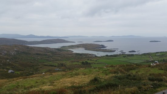 Caherdaniel, Ιρλανδία: View from the restaurant