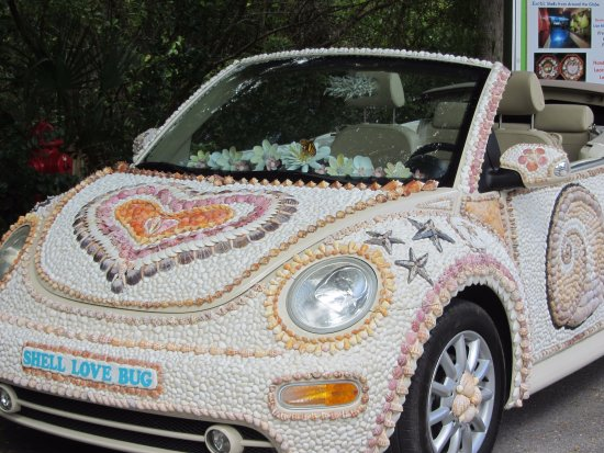 VW fully decorated with ss seen on 1st National Seas Day ...