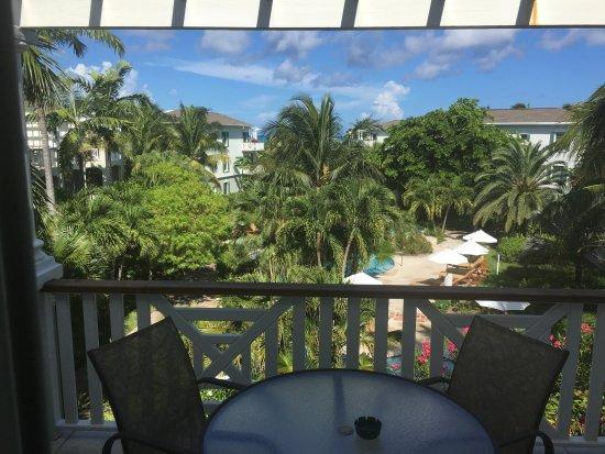 """رويال وست إندياز ريزورت: """"ocean view"""" from my more expensive room"""