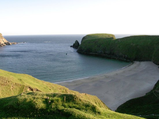 Glenties, Irland: Silver Strand, Glencolmcille. Co Donegal