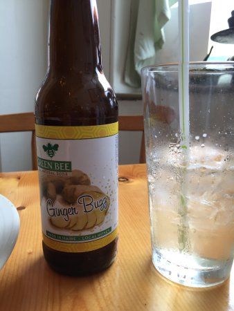 Thomaston, ME: Great bottled ginger brew made in Maine with local honey.