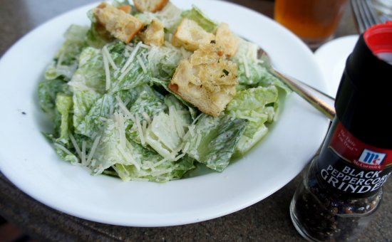 Gaby's by the Lake: Caesar Salad. Crisp and chilled