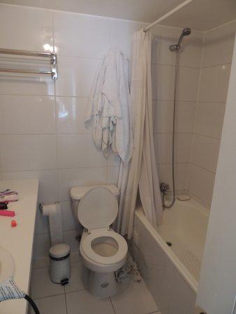 Trivento Apparts: Baño sin bidet
