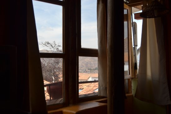 Casa de Mama Cusco-The Treehouse: Vista do quarto