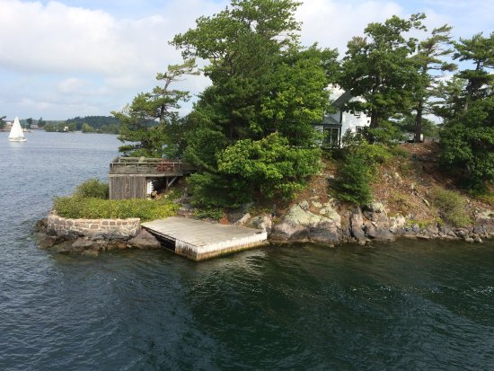 Gananoque, Canada: View from the ship.