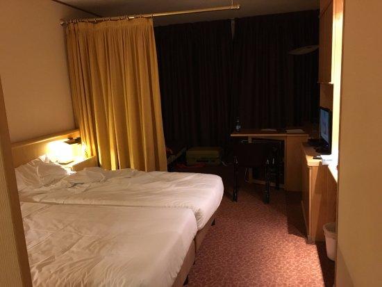 Hotel Les Jumeaux Courmayeur: ホテルの部屋ツインルーム