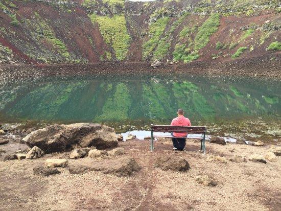 Selfoss, Island: Kerid