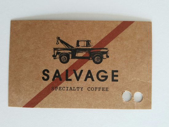 Artarmon, Australien: Salvage Coffee Card - 10th coffee free
