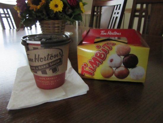 O'Fallon, IL: Timbits and coffee