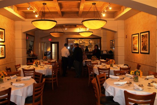 Beau BRIO Tuscan Grille: Private Dining Room Ready To Host Event