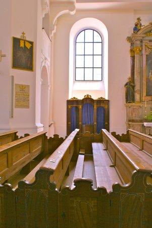 Hallein, Österreich: Pfarrkirche Sankt Anthon