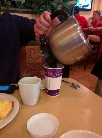 Samaria Cafe: He wanted some coffee, he got a whole pot