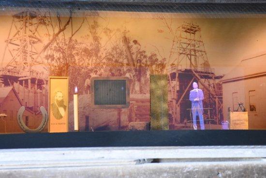 Visual presentation at the Venus Battery.