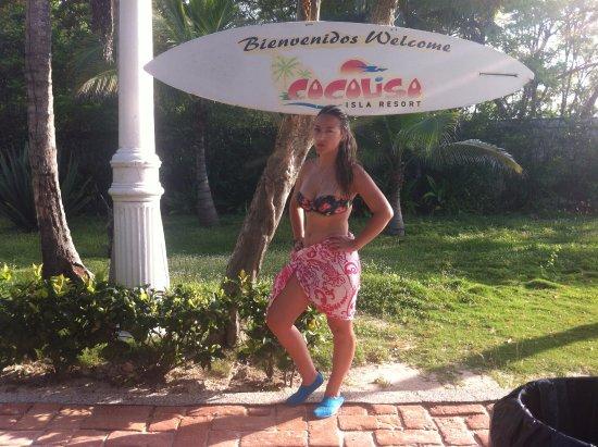 Islas de Rosario, Colômbia: la entrada al resort