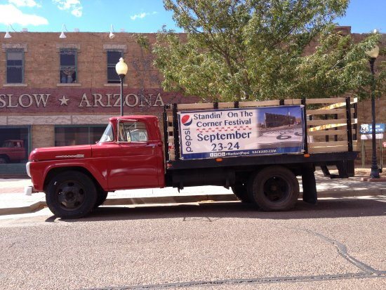 Flat Bed Ford in Winslow