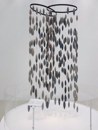 Corning, NY: glass hanging