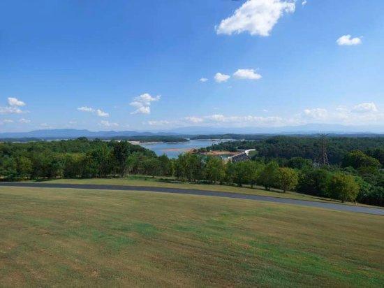 Dandridge, TN: Douglas Lake from Observation Deck