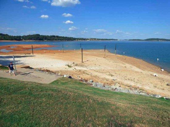 Dandridge, TN: Low Water in September