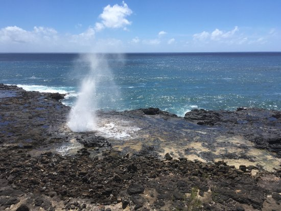 Spouting Horn: Pretty amazing sight