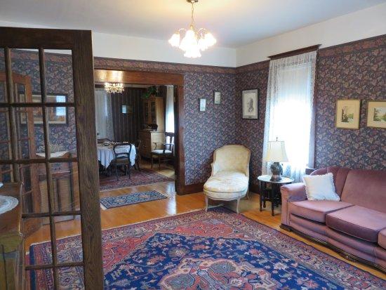 Fort Saskatchewan, Canadá: Inside Dr. Henry House.