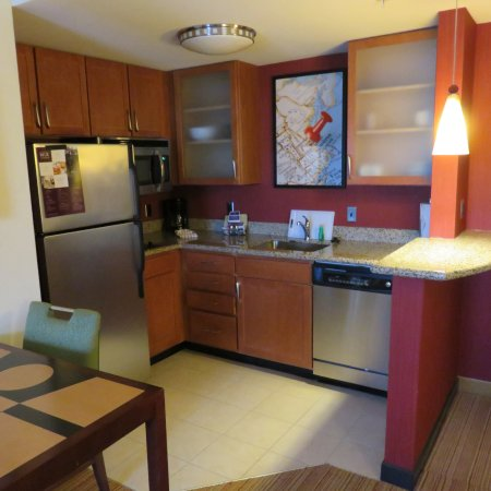 Concord, NH : Kitchen area with dining table