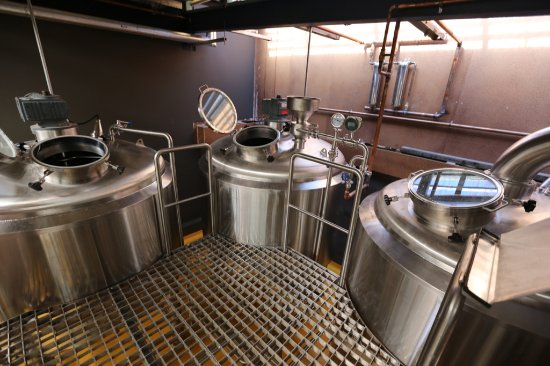 Annandale, Australien: The brewery