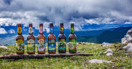 Comté de Shangri-La, Chine : Shangri-La is a magical place and we're dedicated to brewing a magical beer