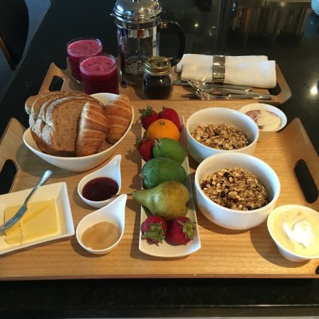 Richmond, Selandia Baru: Complementary Continental Breakfast