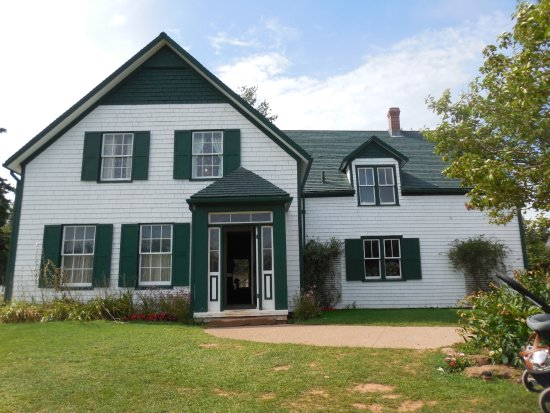 Charlottetown, Canada: The Green Gables house