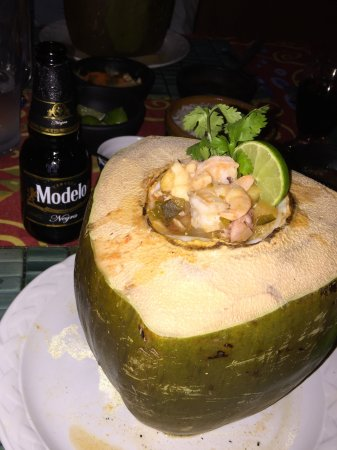 Mayan Beach Garden: Dinner one night.