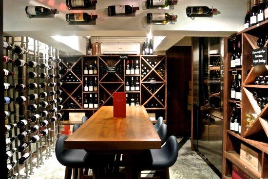 Comptoir Wine cellar & Wine cellar - Picture of Comptoir Hong Kong - TripAdvisor