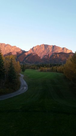 Seebe, Canadá: Brewster's Kananaskis Ranch Golf Course