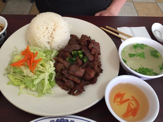 Lawndale, CA: Rice and Lemongrass Pork