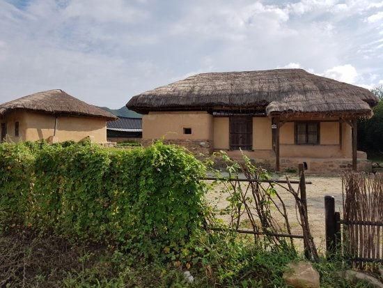 Andong, Coréia do Sul: Thatched house