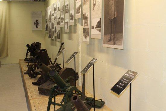 Saaremaa, Estonia: Смотритель очень интересно освещает экспонаты