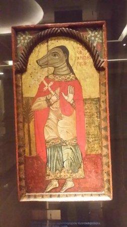 Ο Άγιος Χριστόφορος ο κυνοκέφαλος - Εικόνα του Βυζαντινό και ...