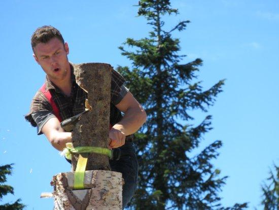 North Vancouver, Kanada: Lumberjack Show