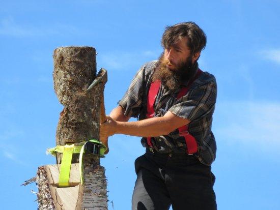 นอร์ทแวนคูเวอร์, แคนาดา: Lumber Jack Show