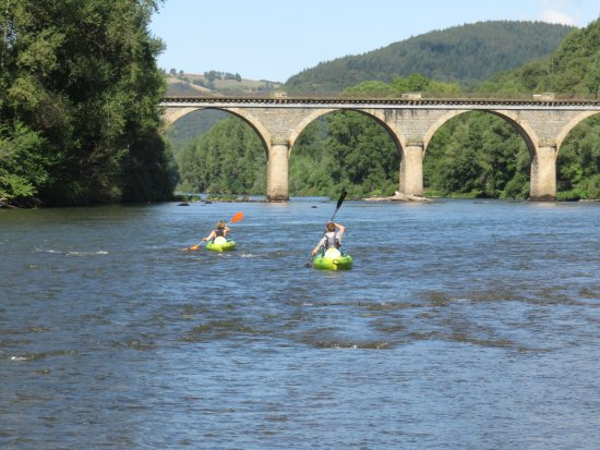Plaisance, Francia: kayaking on the Tarn River