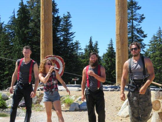 นอร์ทแวนคูเวอร์, แคนาดา: The Lumberjacks