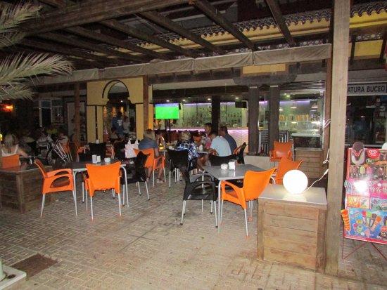 Terraza Cafe-Bar La Ola, en Cabo de Palos